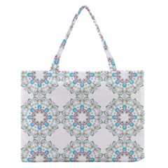 Embroidery Paisley Zipper Medium Tote Bag by snowwhitegirl