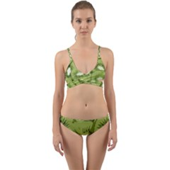 Kiwis Wrap Around Bikini Set by snowwhitegirl