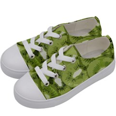 Kiwis Kids  Low Top Canvas Sneakers by snowwhitegirl