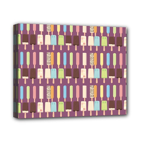 Candy Popsicles Purple Canvas 10  X 8  (stretched) by snowwhitegirl