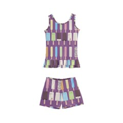 Candy Popsicles Purple Kid s Boyleg Swimsuit by snowwhitegirl