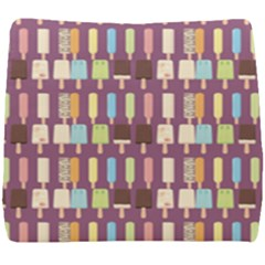 Candy Popsicles Purple Seat Cushion