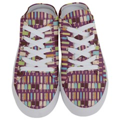 Candy Popsicles Purple Half Slippers by snowwhitegirl