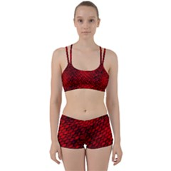 Red Dragon Scales Perfect Fit Gym Set