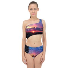 Sunrise Lakeshore Spliced Up Two Piece Swimsuit