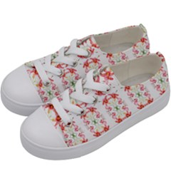 Tigerlily Kids  Low Top Canvas Sneakers by humaipaints