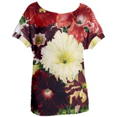 Flowers 1776585 1920 Women s Oversized Tee by vintage2030