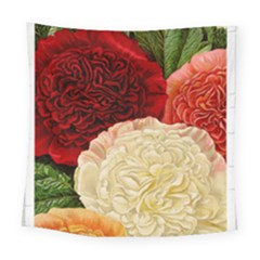 Flowers 1776584 1920 Square Tapestry (large) by vintage2030