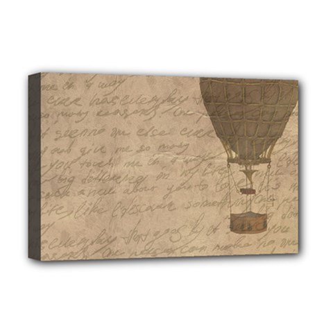 Letter Balloon Deluxe Canvas 18  X 12  (stretched) by vintage2030