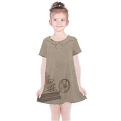 Camera Old Kids  Simple Cotton Dress by vintage2030