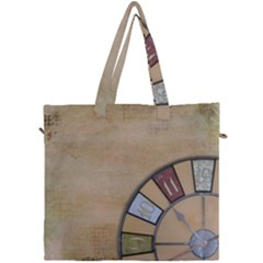 Circle Canvas Travel Bag by vintage2030