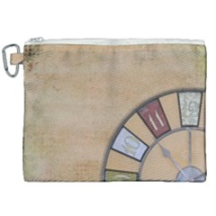 Circle Canvas Cosmetic Bag (xxl) by vintage2030
