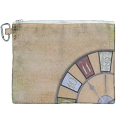 Circle Canvas Cosmetic Bag (xxxl) by vintage2030