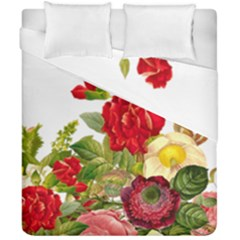 Flower Bouquet 1131891 1920 Duvet Cover Double Side (california King Size) by vintage2030