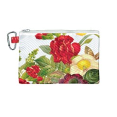 Flower Bouquet 1131891 1920 Canvas Cosmetic Bag (medium) by vintage2030