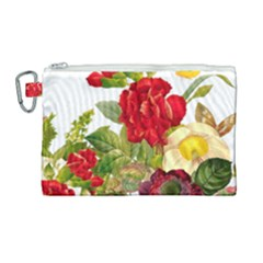 Flower Bouquet 1131891 1920 Canvas Cosmetic Bag (large) by vintage2030
