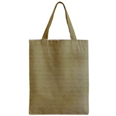Old Letter Zipper Classic Tote Bag by vintage2030