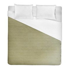Old Letter Duvet Cover (full/ Double Size) by vintage2030