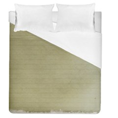 Old Letter Duvet Cover (queen Size) by vintage2030