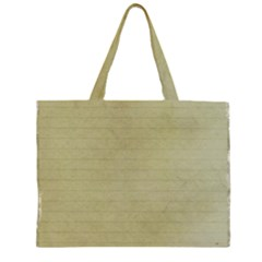 Old Letter Zipper Large Tote Bag by vintage2030