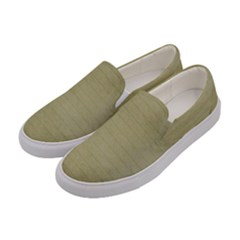 Old Letter Women s Canvas Slip Ons by vintage2030