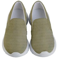 Old Letter Kid s Lightweight Slip Ons by vintage2030
