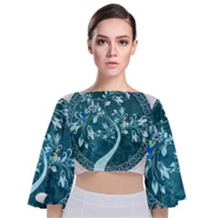 Tag 1763342 1280 Tie Back Butterfly Sleeve Chiffon Top