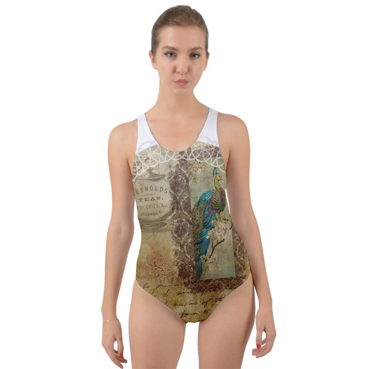 Tag 1763336 1280 Cut-Out Back One Piece Swimsuit