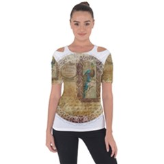 Tag 1763336 1280 Shoulder Cut Out Short Sleeve Top