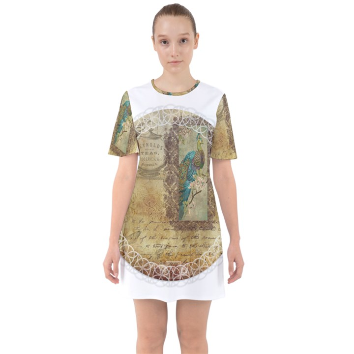 Tag 1763336 1280 Sixties Short Sleeve Mini Dress