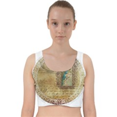 Tag 1763336 1280 Velvet Racer Back Crop Top
