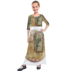 Tag 1763336 1280 Kids  Quarter Sleeve Maxi Dress