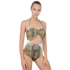 Tag 1763336 1280 Scallop Top Cut Out Swimsuit