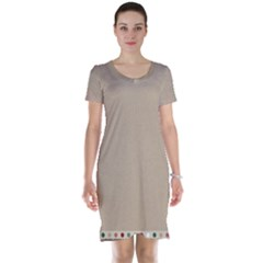 Background 1706649 1920 Short Sleeve Nightdress