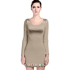 Background 1706649 1920 Long Sleeve Velvet Bodycon Dress