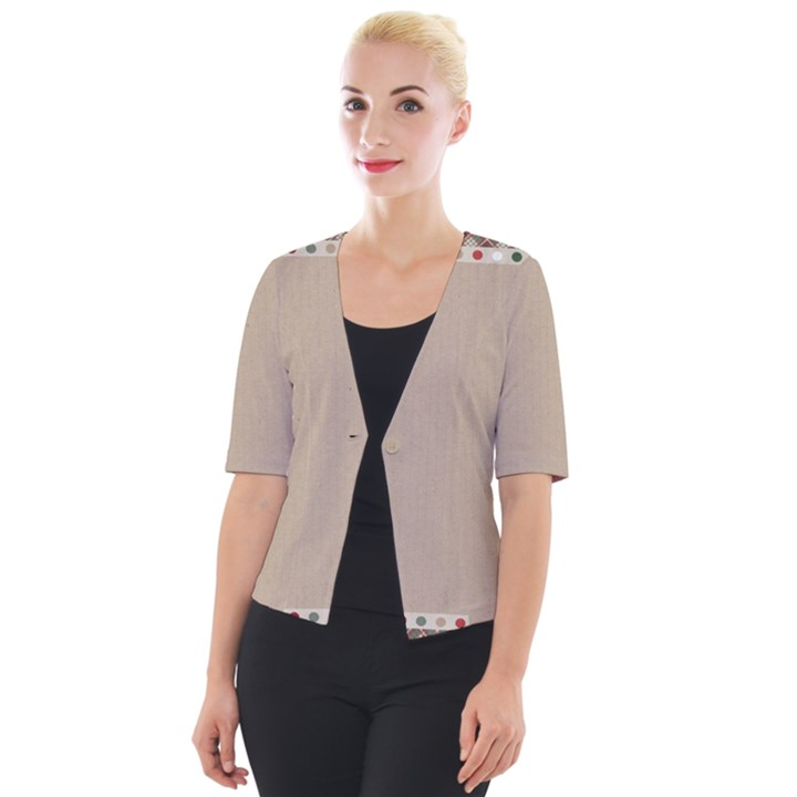Background 1706649 1920 Cropped Button Cardigan