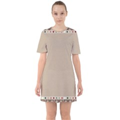 Background 1706649 1920 Sixties Short Sleeve Mini Dress