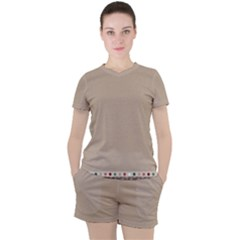 Background 1706649 1920 Women s Tee And Shorts Set