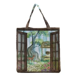 Town 1660349 1280 Grocery Tote Bag by vintage2030