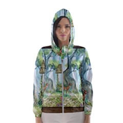Town 1660349 1280 Hooded Windbreaker (Women)