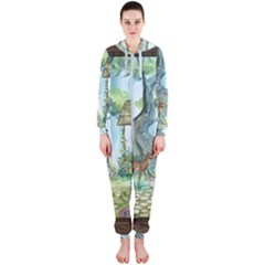 Town 1660349 1280 Hooded Jumpsuit (Ladies)