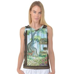 Town 1660349 1280 Women s Basketball Tank Top