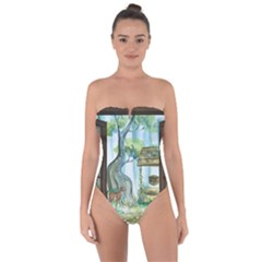 Town 1660349 1280 Tie Back One Piece Swimsuit
