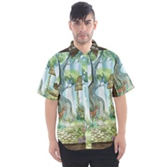 Town 1660349 1280 Men s Short Sleeve Shirt