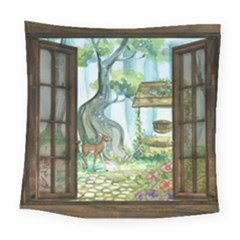 Town 1660349 1280 Square Tapestry (Large)