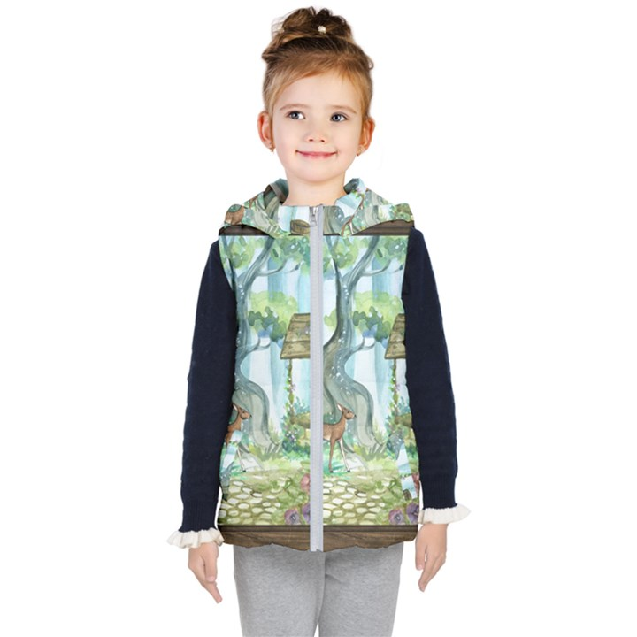 Town 1660349 1280 Kid s Hooded Puffer Vest