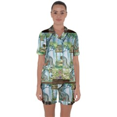 Town 1660349 1280 Satin Short Sleeve Pyjamas Set