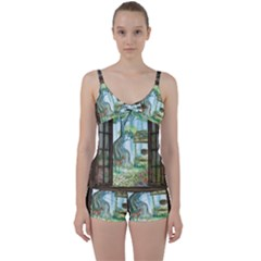 Town 1660349 1280 Tie Front Two Piece Tankini