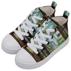 Town 1660349 1280 Kid s Mid-Top Canvas Sneakers