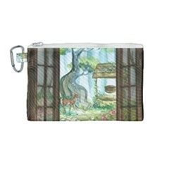 Town 1660349 1280 Canvas Cosmetic Bag (medium) by vintage2030